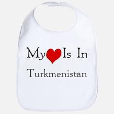 My Heart Is In Turkmenistan Bib