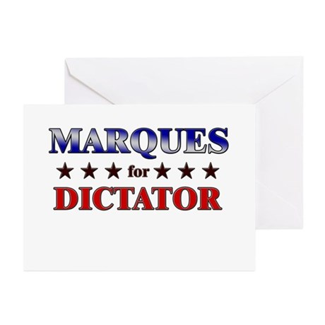 MARQUES for dictator Greeting Cards (Pk of 20)