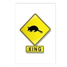 Armadillo XING Postcards (Package of 8)