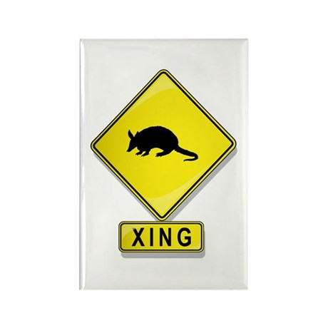 Armadillo XING Rectangle Magnet (100 pack)