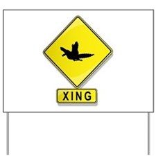 Archaeopteryx XING Yard Sign