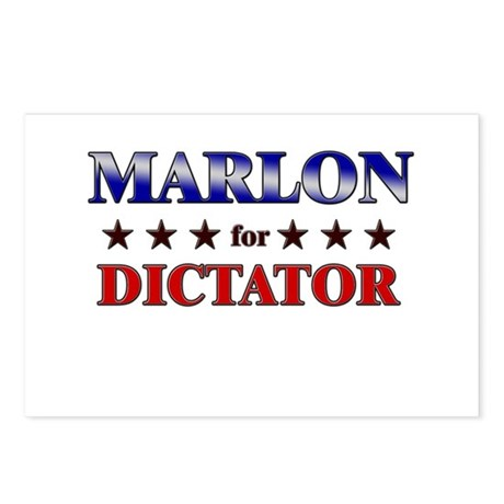 MARLON for dictator Postcards (Package of 8)