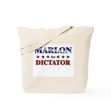 MARLON for dictator Tote Bag