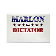 MARLON for dictator Rectangle Magnet