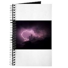 Purple Lightning Journal