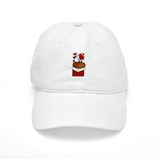 Frustrated Santa Baseball Cap