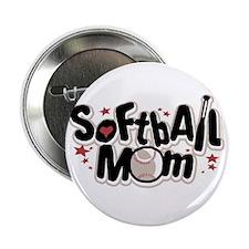 "SOFTBALL MOM 2.25"" Button (10 pack)"