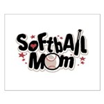 SOFTBALL MOM Small Poster