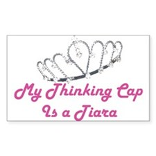 Tiara Rectangle Decal