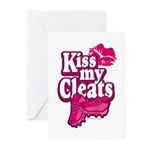 KISS MY CLEATS Greeting Cards (Pk of 10)