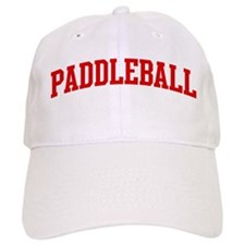 Paddleball (red curve) Baseball Cap