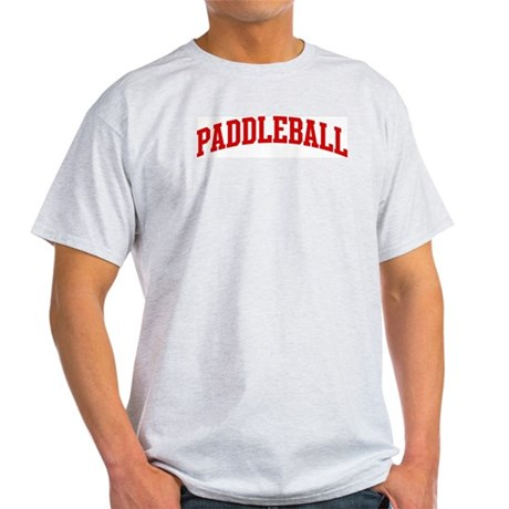 Paddleball (red curve) Light T-Shirt