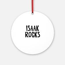 Isaak Rocks Ornament (Round)