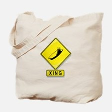 Aircraft Carrier XING Tote Bag