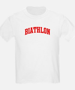 Biathlon (red curve) T-Shirt