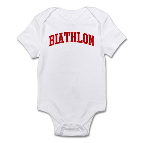 Biathlon (red curve) Infant Bodysuit