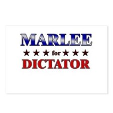 MARLEE for dictator Postcards (Package of 8)