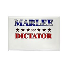 MARLEE for dictator Rectangle Magnet