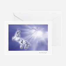 Unicorn 'Happy Holidays!' ~ One Greeting Card