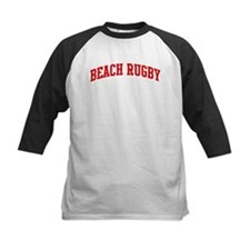 Beach Rugby (red curve) Tee