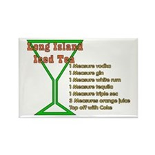 Long Island Iced Tea Rectangle Magnet