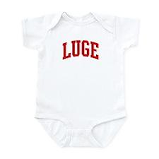 Luge (red curve) Infant Bodysuit
