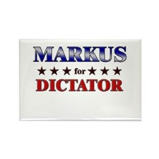MARKUS for dictator Rectangle Magnet