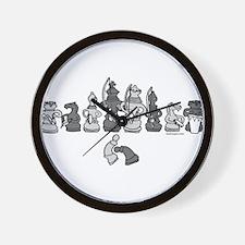 Cute Capoeira Wall Clock