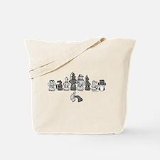 Cute Capoeira Tote Bag