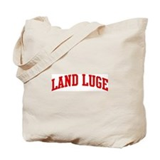 Land Luge (red curve) Tote Bag