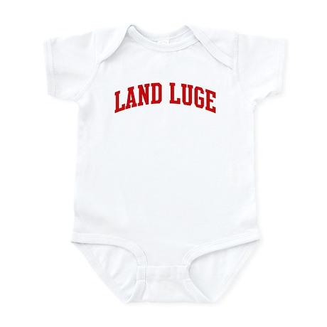 Land Luge (red curve) Infant Bodysuit