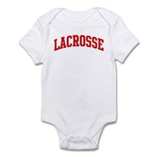 Lacrosse (red curve) Infant Bodysuit
