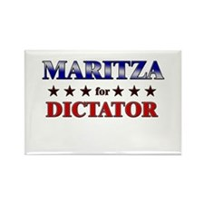 MARITZA for dictator Rectangle Magnet