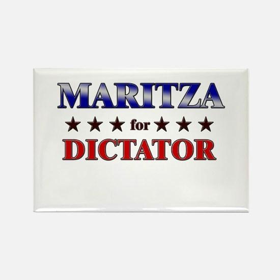 MARITZA for dictator Rectangle Magnet