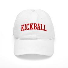 Kickball (red curve) Cap