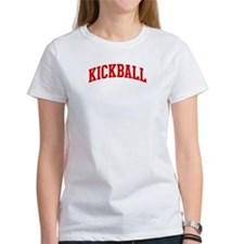 Kickball (red curve) Tee
