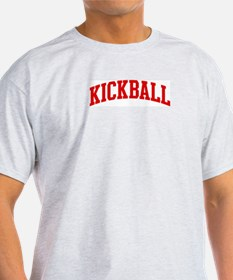 Kickball (red curve) T-Shirt