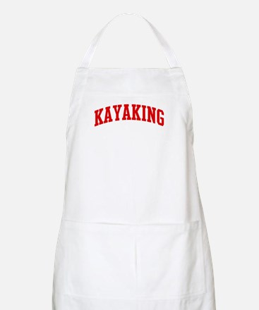 Kayaking (red curve) BBQ Apron