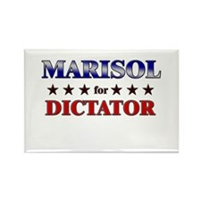MARISOL for dictator Rectangle Magnet