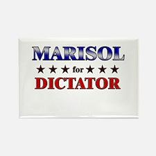 MARISOL for dictator Rectangle Magnet