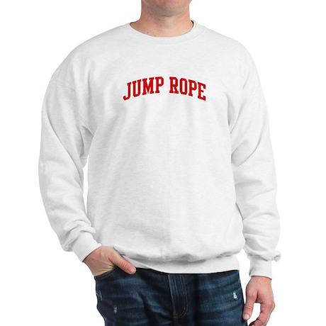 Jump Rope (red curve) Sweatshirt