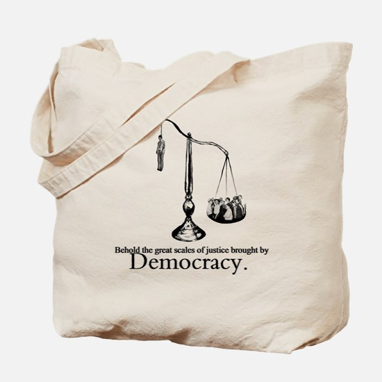 Scales of Justice Tote Bag
