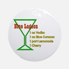 Blue Lagoon Ornament (Round)