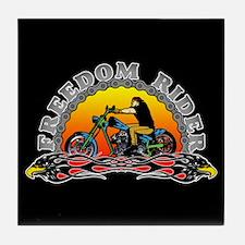Freedom Rider Tile Coaster