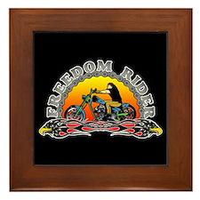 Freedom Rider Framed Tile