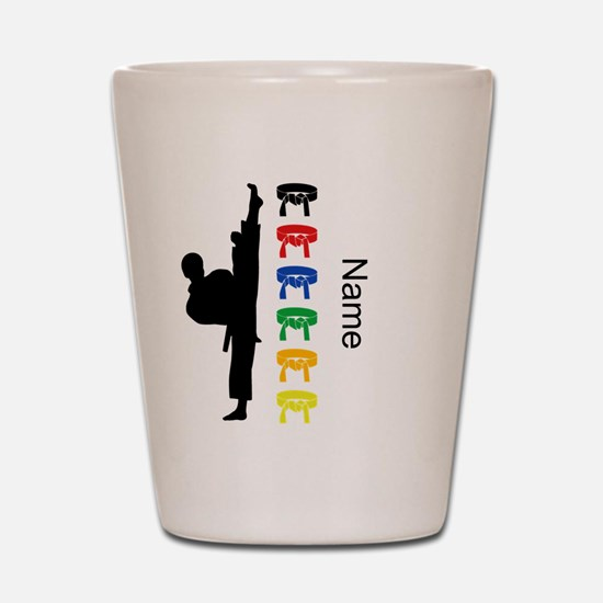 Karate Shot Glass
