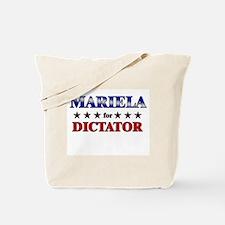MARIELA for dictator Tote Bag