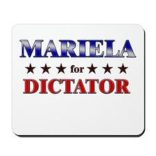 MARIELA for dictator Mousepad