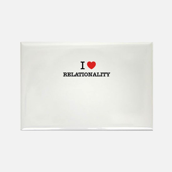 I Love RELATIONALITY Magnets