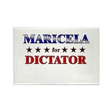 MARICELA for dictator Rectangle Magnet